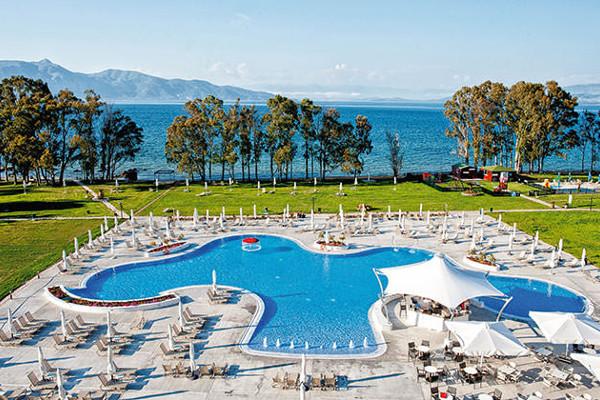 Vue panoramique - Hôtel Tui Family Life Louis Kerkyra Golf 4* Corfou Grece