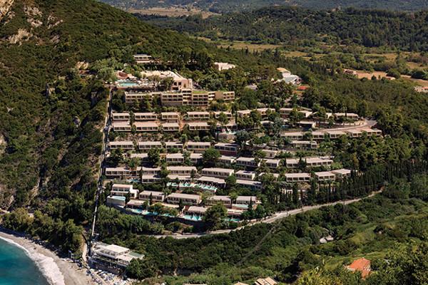 Vue panoramique - Hôtel TUI Sensimar Grand Mediterraneo Resort & Spa 5* Corfou Grece