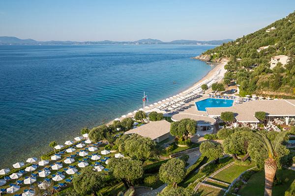 Vue panoramique - Hôtel Tui Sensimar Nissaki Beach Resort & Spa 4* Corfou Grece
