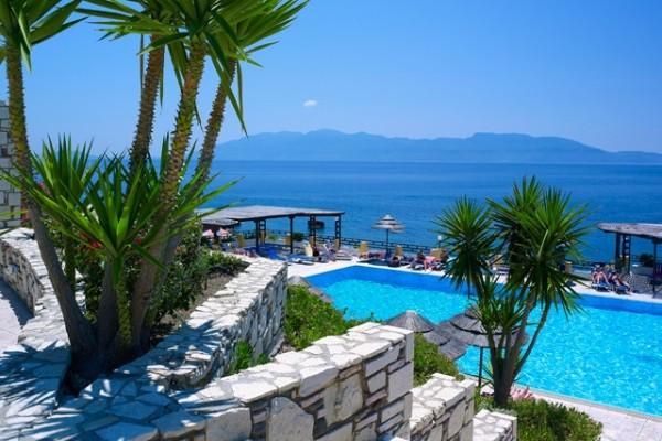Facade - Hôtel Dimitra Beach Resort 4* Kos Grece
