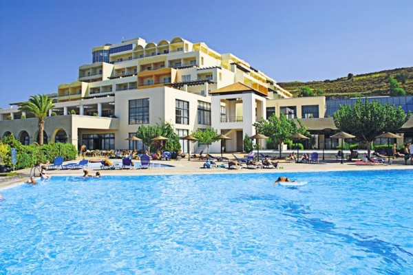 Facade - Hôtel Kipriotis Panorama and suites 5* Kos Grece