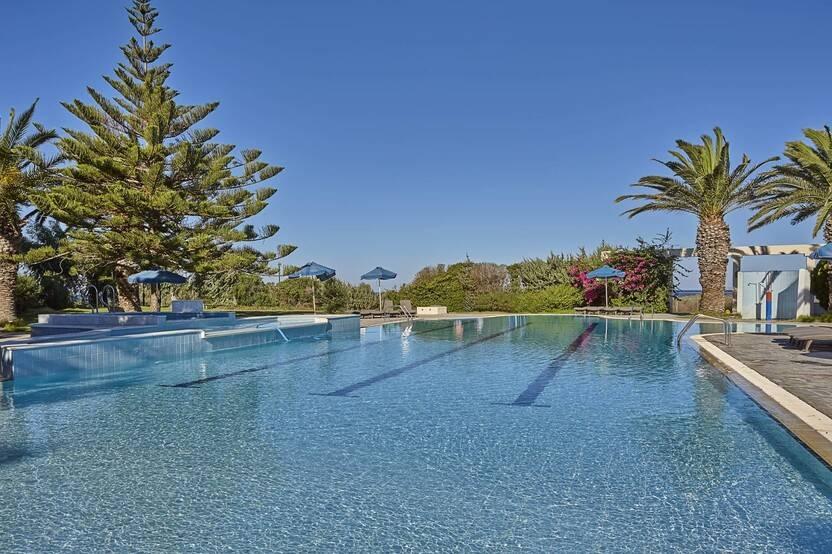 Piscine - Hôtel Ammos Resort 4* Kos Grece