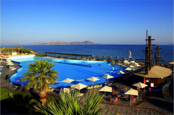 Piscine - Hôtel Labranda Marine Aquapark 4* Kos Grece