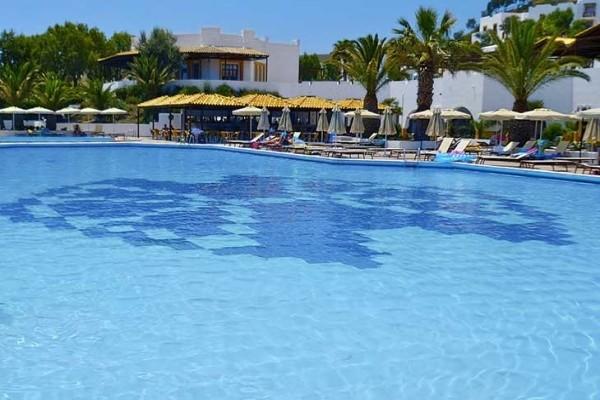 Piscine - Hôtel Lagas Aegean Village 4* Kos Grece