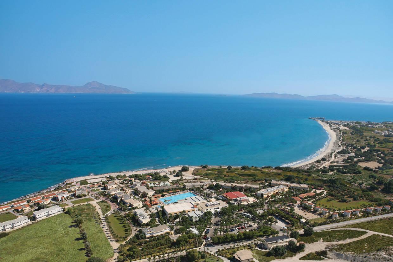 Vue panoramique - Hôtel Eurovillage Achilleas 4* Kos Grece