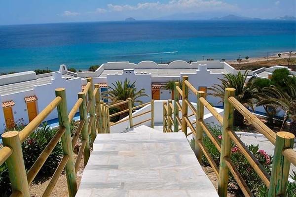 Vue panoramique - Hôtel Lagas Aegean Village 4* Kos Grece
