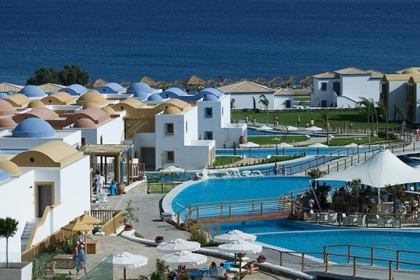 Vue panoramique - Hôtel Mitsis Blue Domes Exclusive Resort 5* Kos Grece