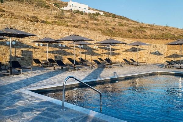 Piscine - Hôtel Alkistis Hotel 3* Mykonos Grece