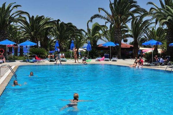 (fictif) - Hôtel Blue Horizon Palm Beach 4* Rhodes Grece