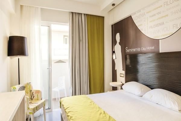 Chambre - Hôtel Smartline Semiramis 4* Rhodes Grece