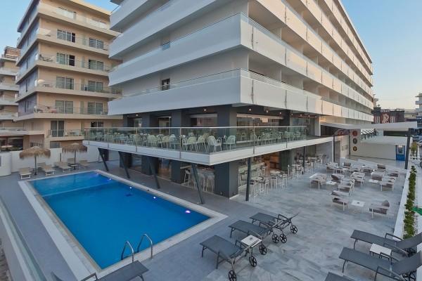 Facade - Hôtel Alexia Premier City 4* Rhodes Grece