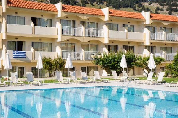 Facade - Hôtel Ôclub Experience Kolymbia Star 4* Rhodes Grece