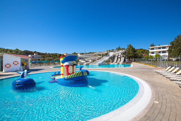 hôtel - animation enfants - Hôtel Cyprotel Faliraki Hotel 4* Rhodes Grece