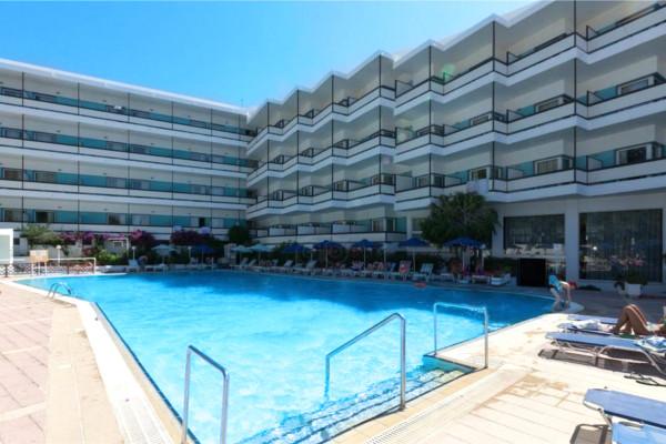 Piscine - Hôtel Belair Beach 4* Rhodes Grece