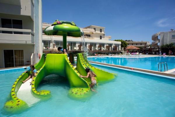 Piscine - Hôtel Delfinia Resort 4* Rhodes Grece