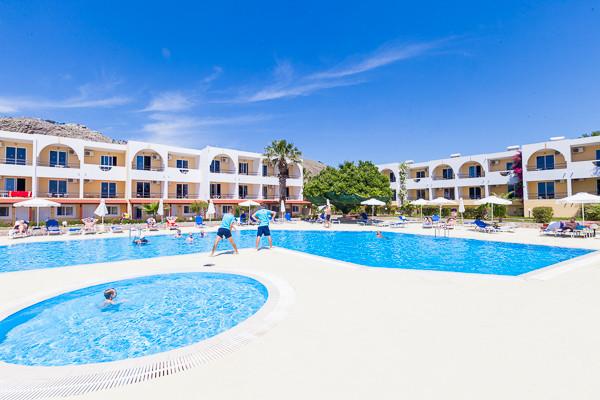 Piscine - Hôtel Lardos Bay 3* Rhodes Grece