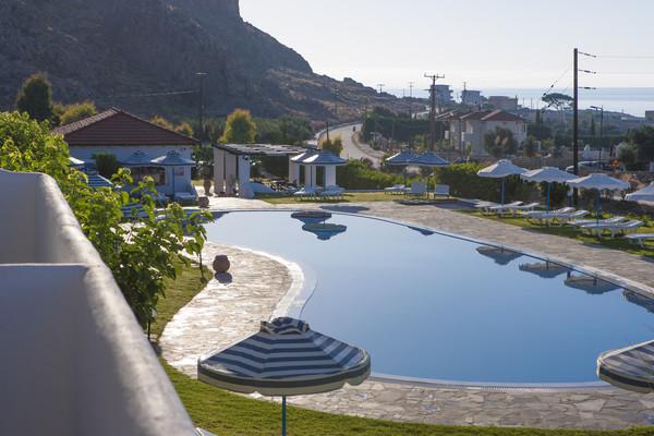 Piscine - Hôtel Lindos Sun 4* Rhodes Grece