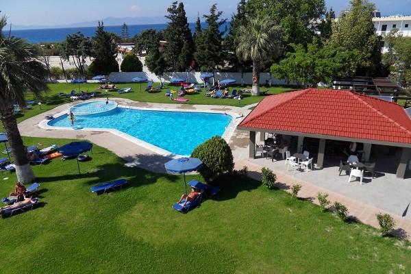 Piscine - Hôtel Matoula Beach 4* Rhodes Grece
