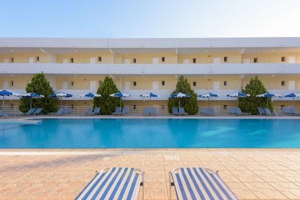 Piscine - Hôtel Memphis Beach 3* Rhodes Grece