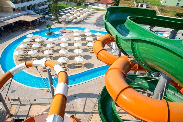 Piscine - Hôtel SplashWorld Sun Palace 4* Rhodes Rhodes