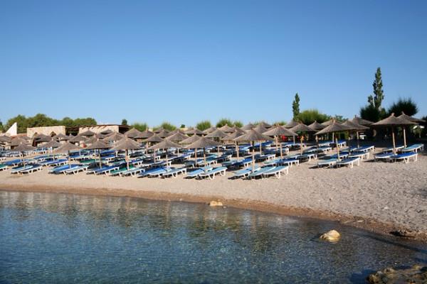 Plage - Hôtel Eden Roc Resort 4* Rhodes Grece