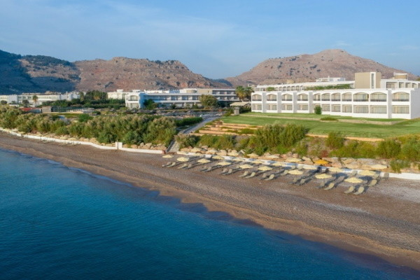 Plage - Hôtel Lutania Beach 4* Rhodes Grece