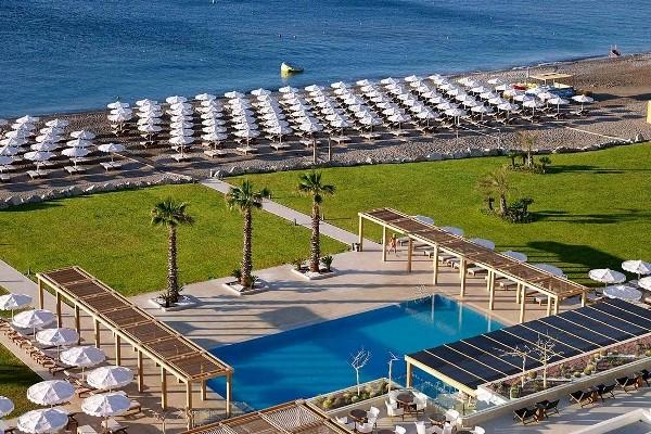 Plage - Hôtel Mitsis Alila Resort & Spa 5* Rhodes Grece