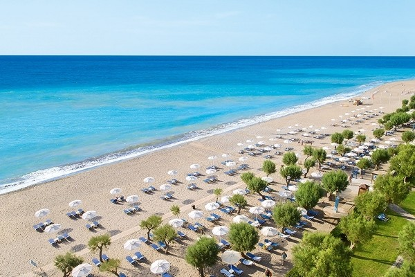 Plage - Hôtel Rhodos Royal Grecotel Resort 4* Rhodes Grece