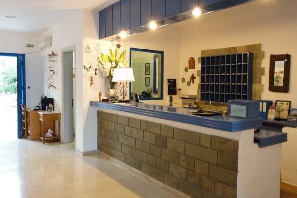 Reception - Hôtel Lindos Sun 4* Rhodes Grece