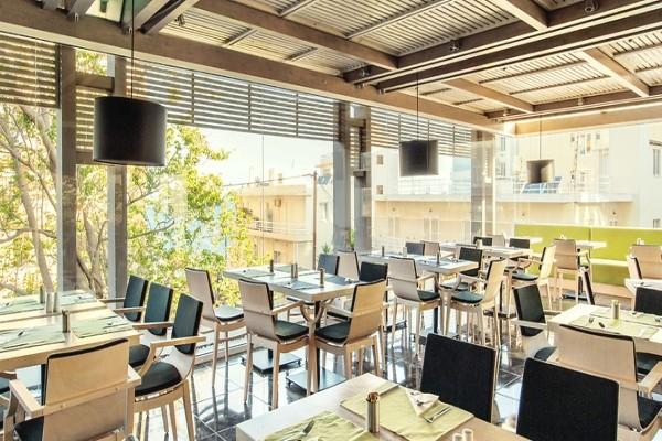 Restaurant - Hôtel Smartline Semiramis 4* Rhodes Grece