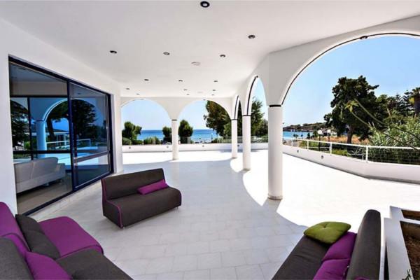 Terrasse - Hôtel Larisa Blue Boutique & Resort 3* Rhodes Grece