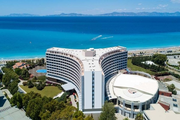 Vue panoramique - Hôtel Akti Imperial 5* Rhodes Grece