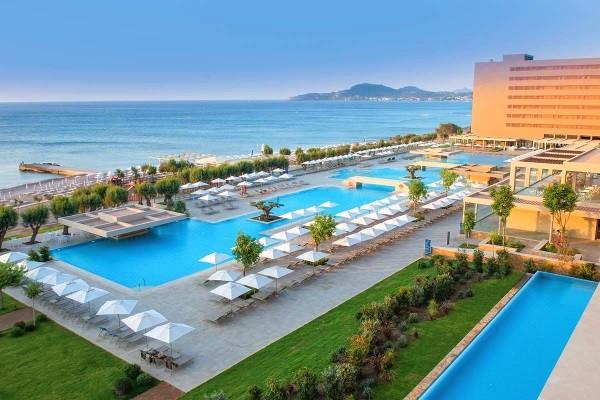 Vue panoramique - Hôtel Amada Colossos Resort 5* Rhodes Grece