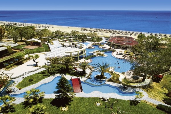 Vue panoramique - Hôtel Calypso Beach 4* Rhodes Grece