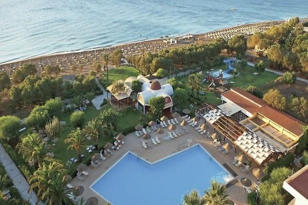 Vue panoramique - Hôtel Club Jumbo Pegasos Beach 4* Rhodes Grece