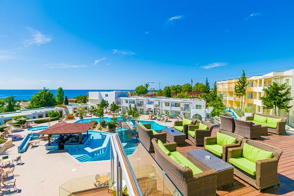 Vue panoramique - Kiotari 4* Rhodes Rhodes