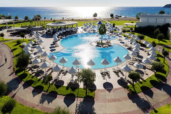 Vue panoramique - Hôtel Sentido Apollo Blue 5* Rhodes Grece