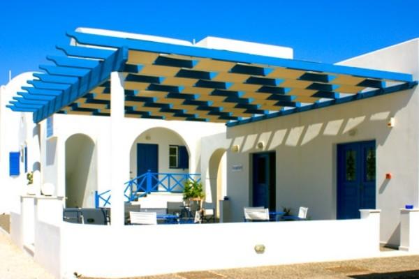 (fictif) - Hôtel Blue Bay Villas 4 clés Santorin Grece