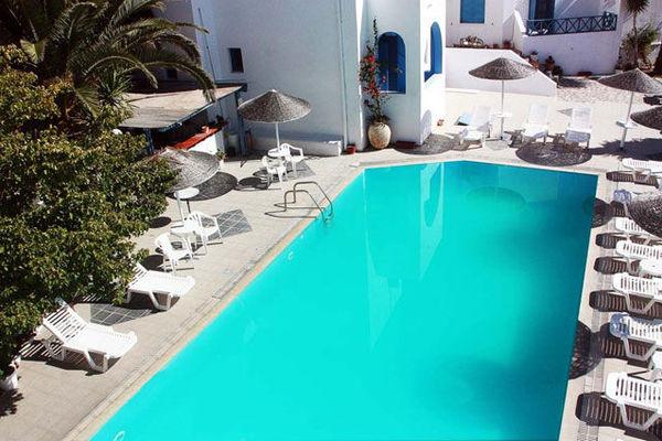 (fictif) - Hôtel Kalma 3* Santorin Grece