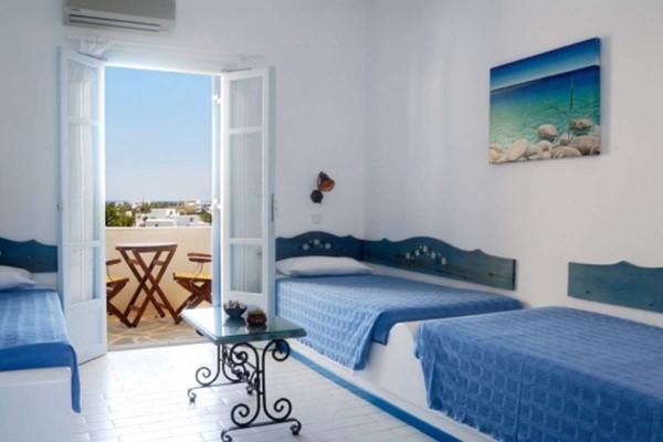 Chambre - Hôtel Albatross 3* Santorin Grece