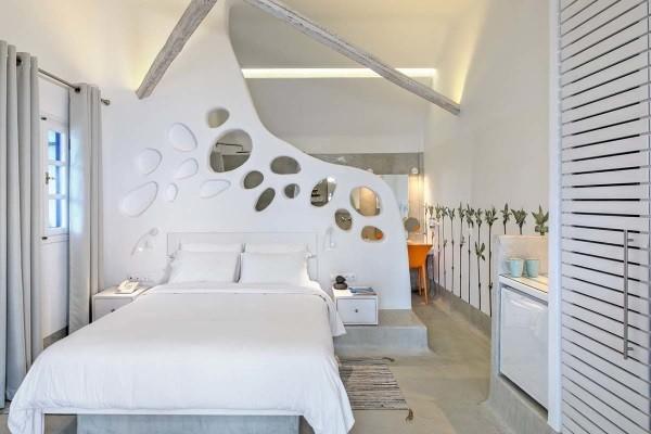 Chambre - Hôtel Kouros Village 4* Santorin Grece