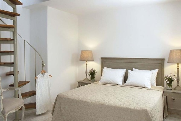 Chambre - Hôtel Saint Andrea Seaside Resort 4* Santorin Grèce : Les Cyclades
