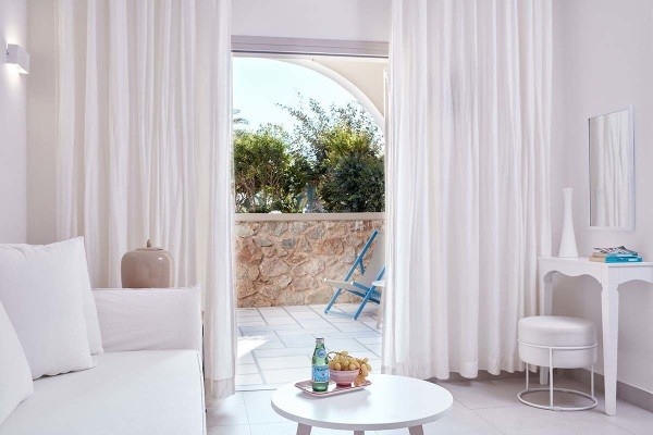 Chambre - Hôtel Santo Miramare Resort 4* Santorin Grece