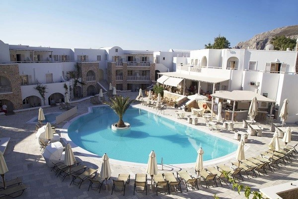 Piscine - Hôtel Aegean Plaza 4* sup Santorin Grece