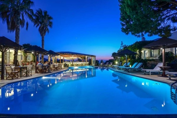 Piscine - Hôtel Alkyoni Beach 3* sup Santorin Grece