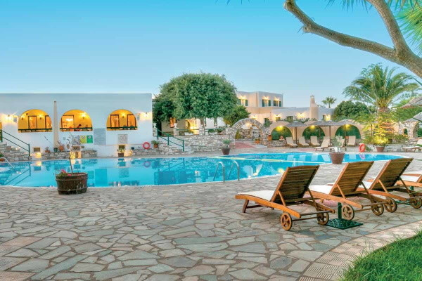 Piscine - Hôtel Asteras Paradise 4* Santorin Grece