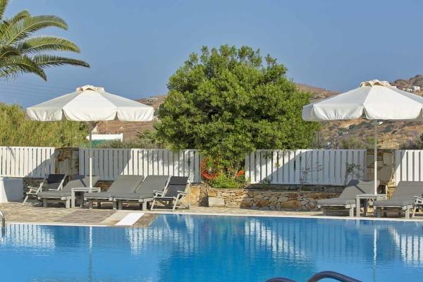 Piscine - Hôtel Dionysos Sea Side Resort 4* Santorin Grece