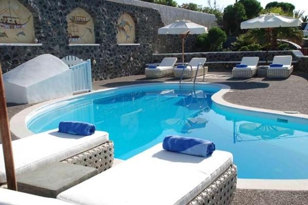 Piscine - Hôtel El Greco / Arrivée Santorin 4* sup Santorin Grece