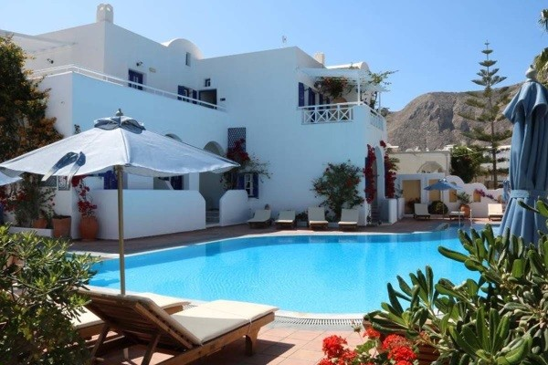 Piscine - Club Héliades Kouros Village 4* Santorin Grece