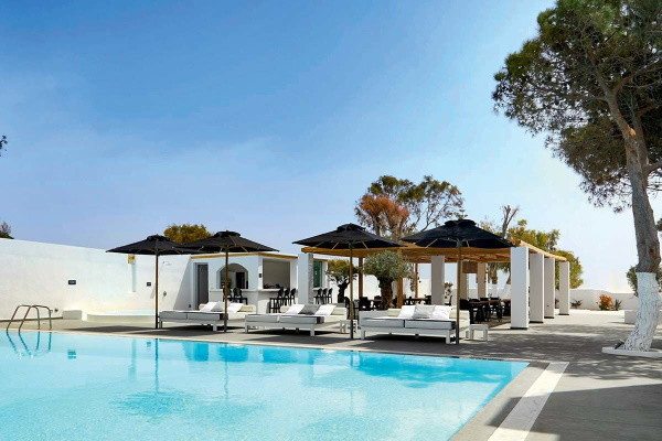 Piscine - Hôtel Kalisti & Suites 4* Santorin Grece